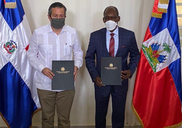 Ministros de Medio Ambiente de RD y Haití trabajan para preservar recursos naturales de ambos países