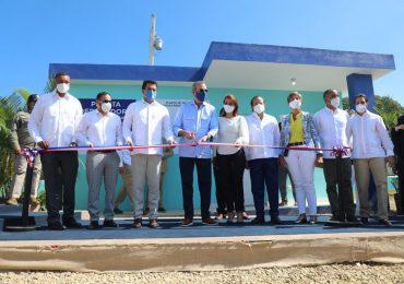 FOTOS | Inauguran planta de tratamiento en municipio Luperón tras 16 años de construcción