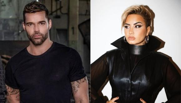 Ricky Martin y Demi Lovato piden que Trump salga ya de la Casa Blanca