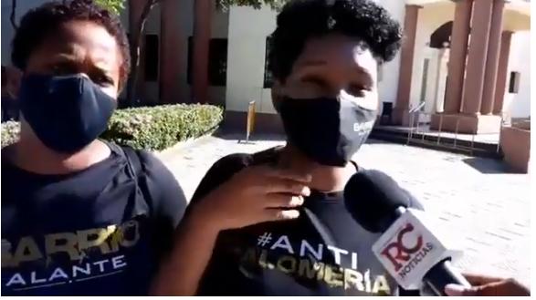 VIDEO | Movimiento Barrio Alante exige el cese de los crímenes y reestructuración del cuerpo policial
