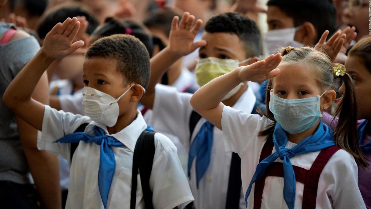 Cuba cerrará temporalmente escuelas para contener propagación de covid-19