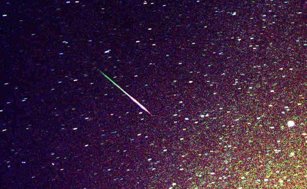 El 2021 empieza con una lluvia de meteoritos visible desde la Tierra