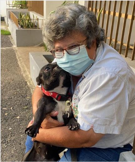 Perrita maltratada ha sido rescatada por el Ministerio Público