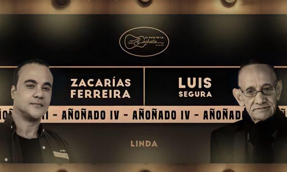 """Zacarías Ferreria y Luis Segura unen sus voces en nuevo tema musical """"Linda''"""