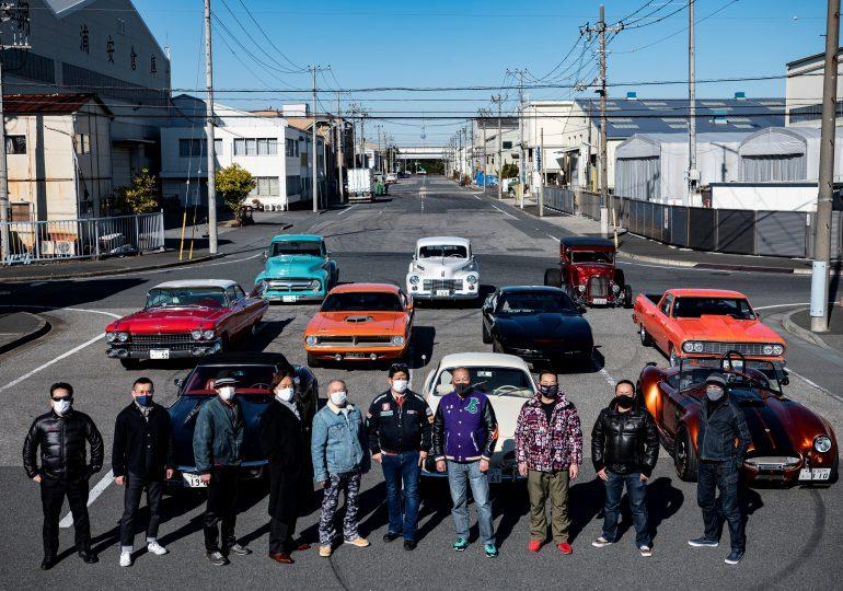 GALERÍA | El encanto de los Cadillacs y Chevrolets en las calles de Tokio