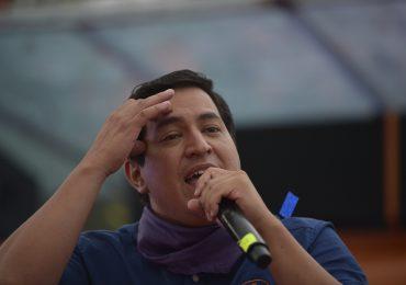 Principal candidato de izquierda no podrá votar en Ecuador