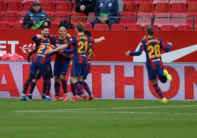 El Barcelona y Messi recuperan la ilusión por el título de LaLiga