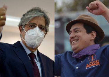 Andrés Arauz y Guillermo Lasso se medirán en segunda vuelta electoral de Ecuador