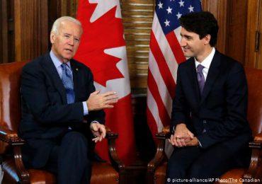 Biden y Justin Trudeau mantendrán su primera reunión bilateral