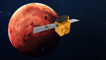 Sonda espacial árabe se sitúa en órbita de Marte por primera vez