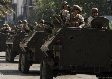 Militares se suman a patrullajes tras aumento de violencia en Chile