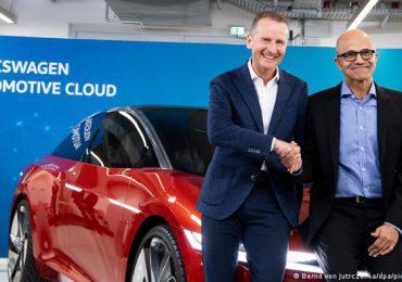 Volkswagen y Microsoft desarrollarán la conducción autónoma y conectada