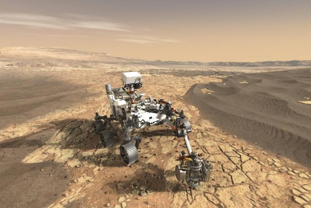 EEUU envió cinco róveres a Marte, ¿Cuándo irán los humanos?