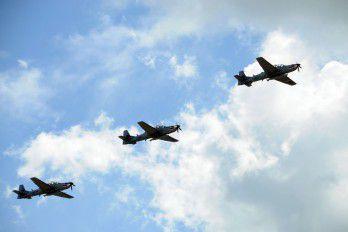 Aviones Súper Tucanos vigilan todo el perímetro fronterizo entre RD y Haití