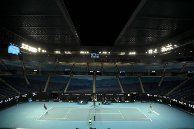 Abierto de Australia autoriza de 7.500 espectadores a estadio principal