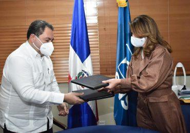 SNS y NUVI firman convenio para contribuir al medio ambiente