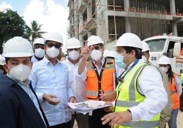 Obras Públicas ordena acelerar construcción del Palacio de Justicia en SDE