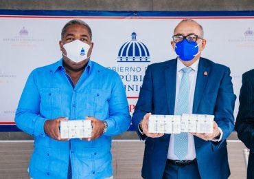 Gabinete Social continúa apoyando al sector salud con entrega de medicamentos