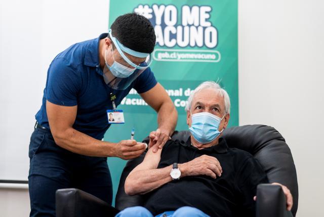 Chile ha vacunado a más de 1,8 millones de personas contra el coronavirus