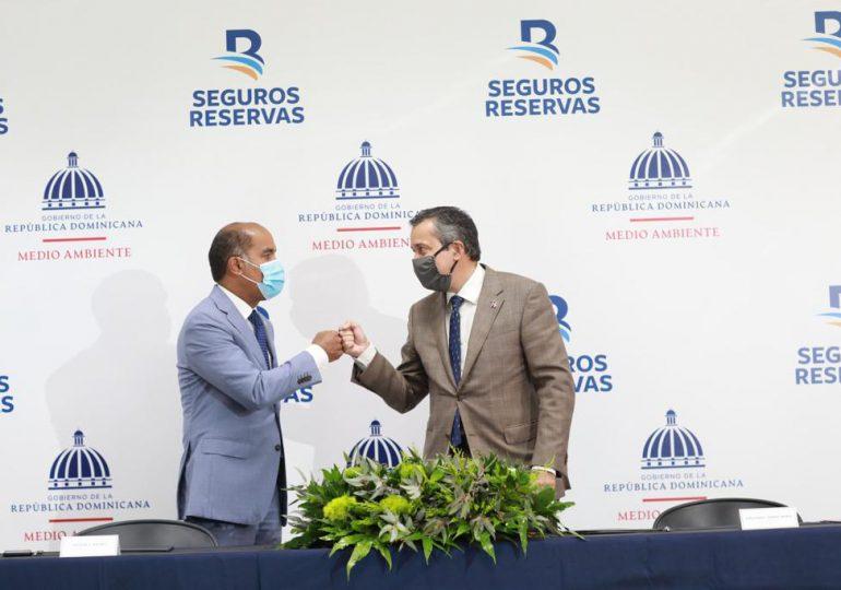 Firman acuerdo para la inclusión de los seguros destinados a protección de medio ambiente