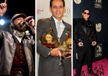 Conozca los siete artistas masculinos más galardonados en la historia de Premios Lo Nuestro
