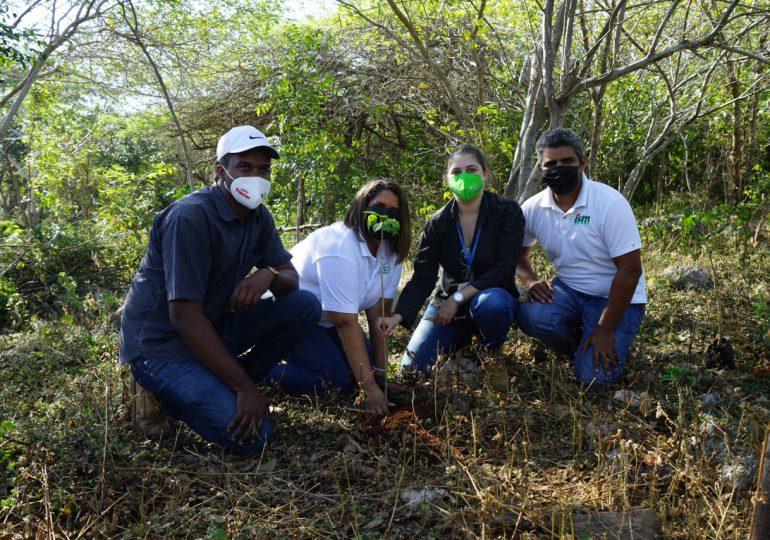 ISM, EcoRed y Jardín Botánico realizan Jornada de Reforestación de Roblillo