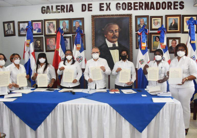 Ministro de Economía y gobernadoras de las provincias fronterizas firman alianza