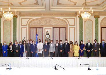 Nueva Directiva del CONEP acude al Palacio Nacional