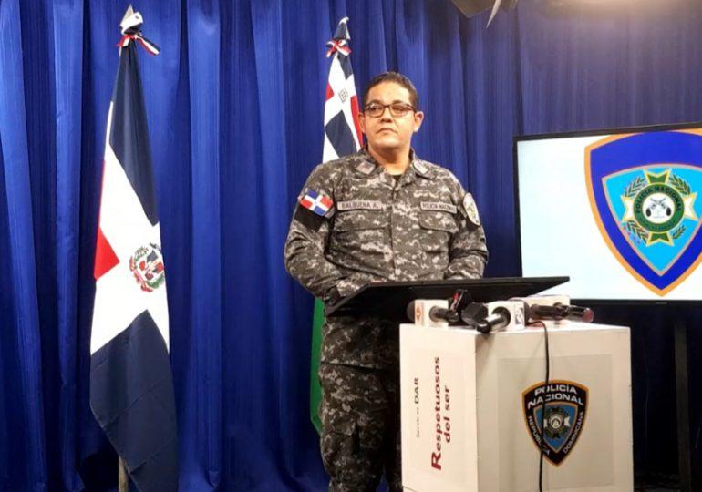 PN apresa 13 personas por diferentes delitos y rescata menor raptada hace un año
