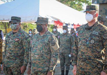 Inauguran Destacamento Militar Rinconcito en Elías Piña