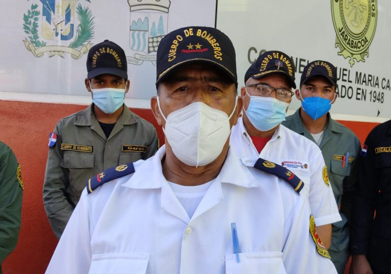 VIDEO   Interior y policía no paga desde hace cuatro meses a bomberos de Jarabacoa