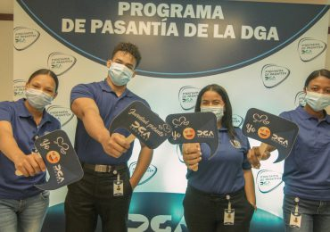 DGA presenta programa de pasantías para jóvenes