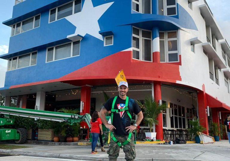Julián Gil cataloga de racista borrar la bandera puertorriqueña de su restaurante en Miami