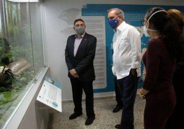 Abinader supervisa  museos de la Plaza Cultura Juan Pablo Duarte