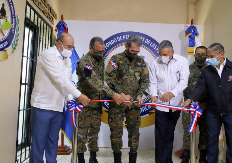 Inauguran nueva oficina coordinadora para dar servicios a militares pensionados