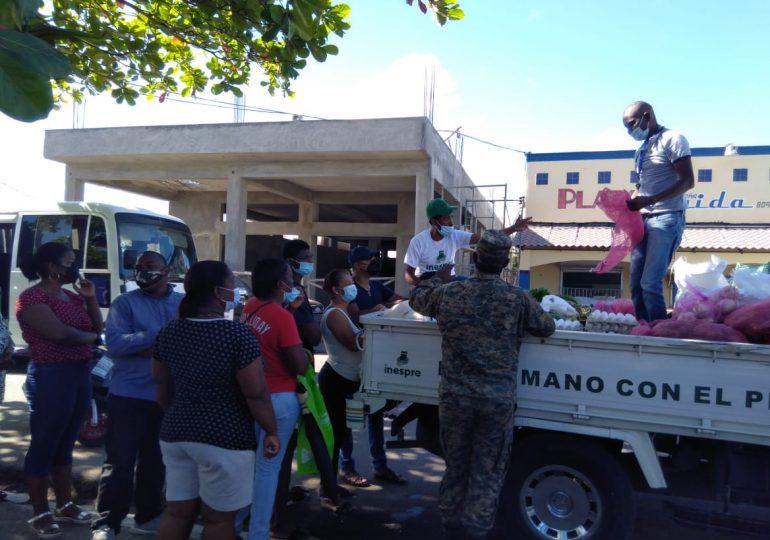 Operativo de Bodegas móviles de Inespre llegan a Monte Plata