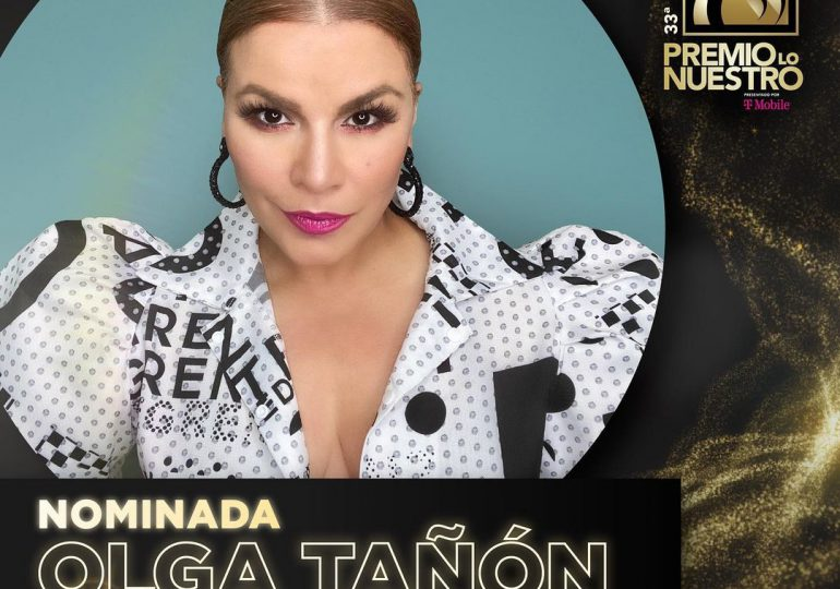 Olga Tañón es la artista femenina con más Premio Lo Nuestro y la más nominada