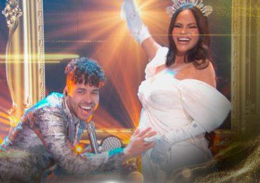 Natti Natasha confirma su embarazo en Premios Lo Nuestro