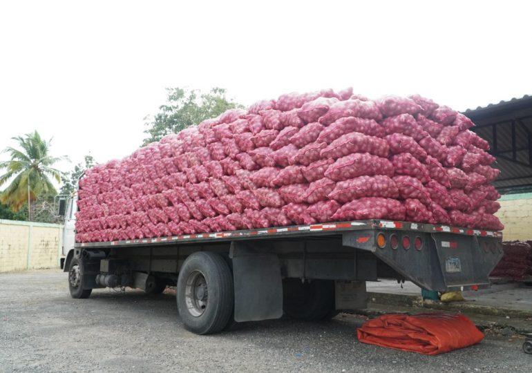 Inespre vende 6 mil quintales de cebolla a 10 pesos la libra en lo que va de febrero