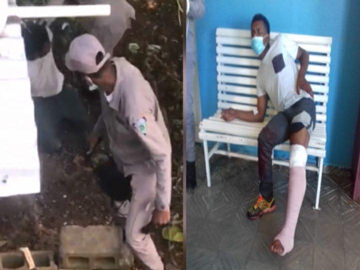 Policia Nacional investiga apresamiento de un hombre que resultó herido de bala