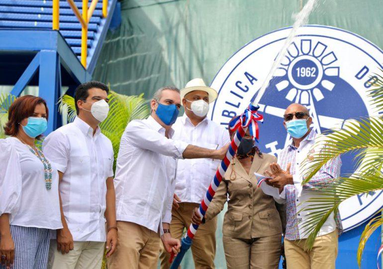 Ponen en marcha planta potabilizadora luego de 15 años inhabilitada en Monte Plata