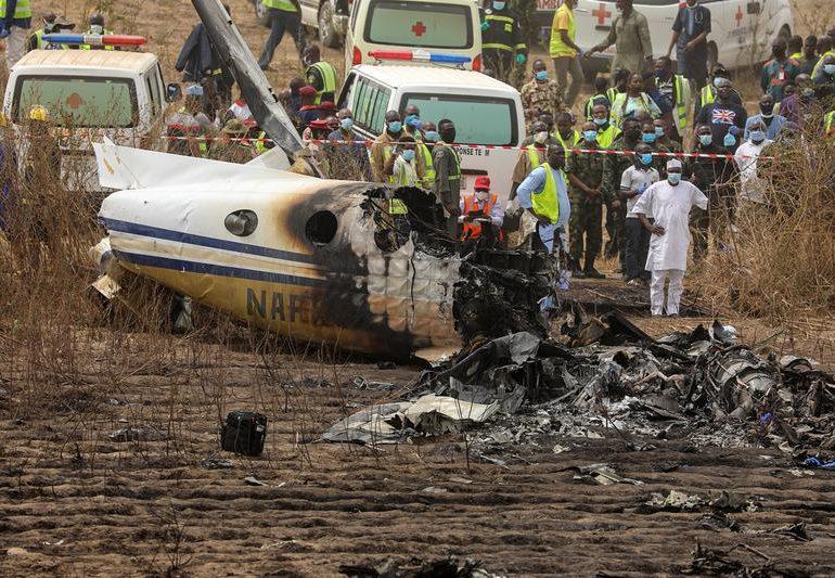 Siete muertos en accidente de avión en Nigeria