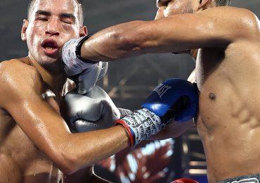 Elvis Rodríguez, desde Los Mina está triunfando en el boxeo en Las Vegas