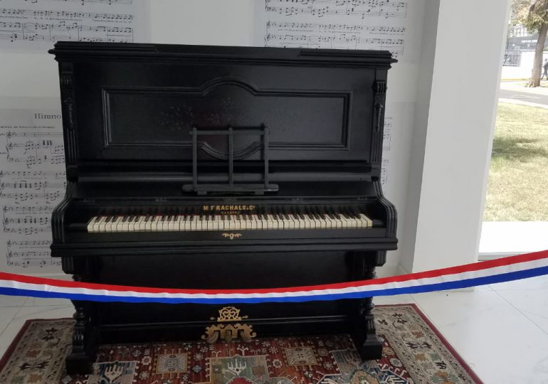 Cultura presenta el piano restaurado con que se musicalizó el Himno Nacional