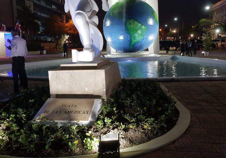 Alcaldía inaugura trabajos de remoción del Pabellón de las Naciones en el Centro de los Héroes