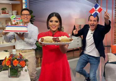 Francisca Lachapel demuestra su orgullo dominicano a ritmo de merengue y mangú