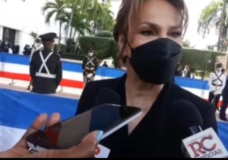 VIDEO | Discurso de Abinader durará una hora aproximadamente, confirmó la vocera de gobierno