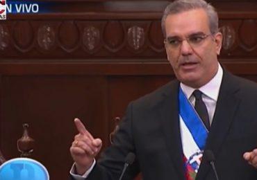Lee aquí el primer discurso de rendición de cuentas de Luis Abinader