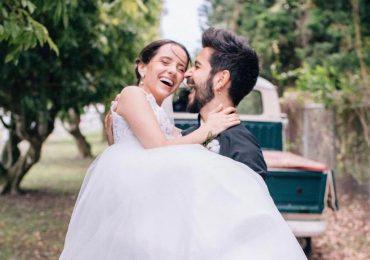 Evaluna  y Camilo celebran su primer aniversario de casados