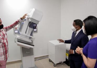 Inauguran sala de mamografía en el Hospital Doctora Evangelina Rodríguez
